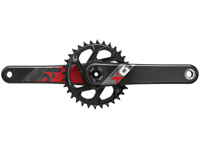 SRAM X01 Eagle DUB Krank Direct Mount 32 tænder 12-speed, red